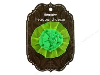 Hair Hair Adornments: Simplicity Hair Headband Decor Flower Sheer Rose