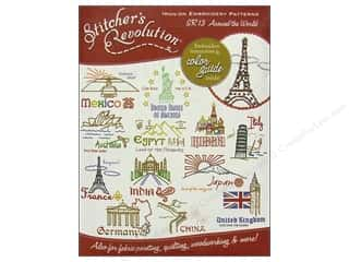Captions Yarn & Needlework: Stitcher's Revolution Iron On Transfer Around The World