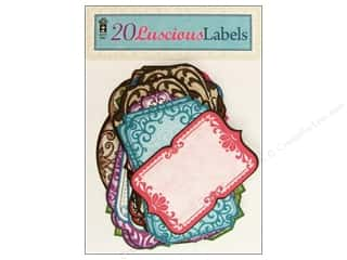 Hot Off The Press Paper Embellishment Labels 20pc