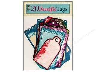 Hot Off The Press Paper Embellishment Tags 20pc