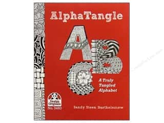 paper craft books: Alpha Tangle Book