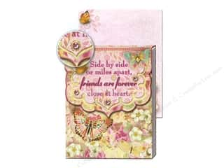 Punch Studio Hearts: Punch Studio Pocket Note Pad Wisdom Friends Forever
