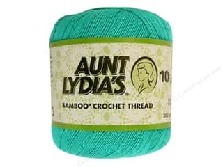 Aunt Lydia&#39;s Bamboo Crochet Thread Size 10 Sea Glass