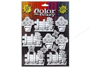 Petaloo $2 - $3: Petaloo Sticker Color Me Crazy 3D Silhouettes Flower Assortment