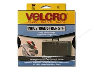 Velcro Sticky Back Industrial Strength 2 in x 10 ft Black (10 feet)