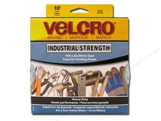 VELCRO brand STICKY-BACK Industrial 2&quot;x10&#39; Wht (10 feet)