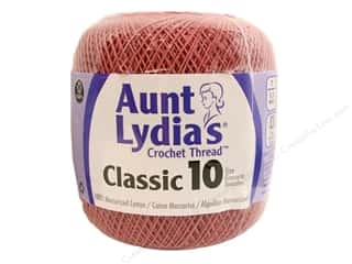 Aunt Lydia's Classic Crochet Thread Size 10 Dusty Rose