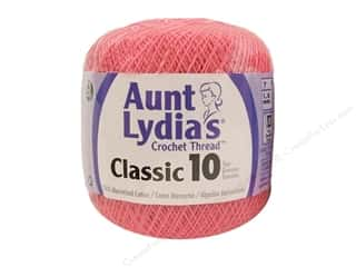 Aunt Lydia's Classic Crochet Thread Size 10 French Rose