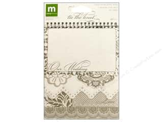 Clearance Pine Ridge Art List Pads: Making Memories Spiral Journaling Bk Tie The Knot