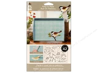 Plaid RO Trnsfr Folkart Easy Paint Patterns Birds