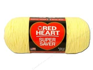 Red Heart Super Saver Jumbo Yarn Pale Yellow 14 oz.