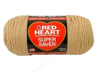 Red Heart Super Saver Jumbo Yarn #334 Buff 14 oz.
