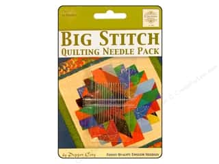 Sublime Stitching Quilting Notions: Colonial Needle Hand Needle Big Stitch Quilting Pack 14pc