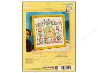 Bucilla Xstitch Kit Birth Record Animal Circus