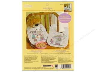 Weekly Specials Cross Stitch Kits: Bucilla Xstitch Kit Quilted Bibs Animal Circus