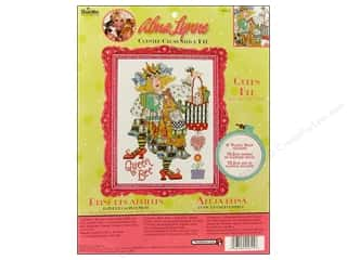 Weekly Specials Cross Stitch Kits: Bucilla Counted Cross Stitch Kit Alma Lynne Queen Bee