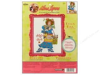 Weekly Specials Bucilla Beginner Cross Stitch Kit: Bucilla Xstitch Kit Alma Lynne Doggy Diva