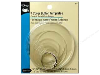 Dritz Notions $5 - $7: Cover Button Templates by Dritz 7pc.