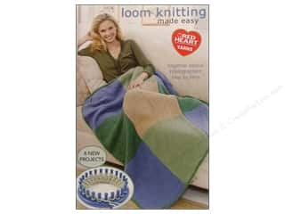 knitting books: Coats & Clark Loom Knitting Made Easy Book
