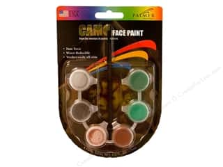 Palmer Paints Brown: Palmer Face Paint 6 Pot Camo