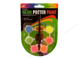 Finishes Glow: Palmer Poster Paint 6 Pot Neon