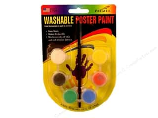 Palmer Paints Palmer Face Paint: Palmer Washable Poster Paint Set 6 Pot