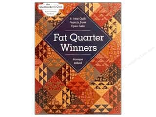 C&T Publishing Fat Quarter Winners Book by Monique Dillard
