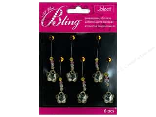 EK Jolee's Stickers Bling Swing Flower