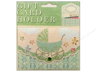 Punch Studio Gift Card Holder Baby Carriage