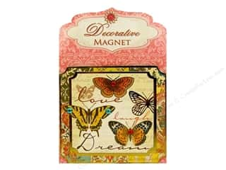 Magnets: Punch Studio Decorative Magnet Love Laugh Dream