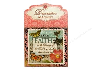 Magnets: Punch Studio Decorative Magnet Faith