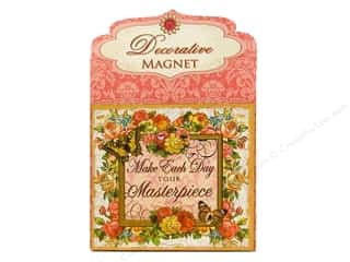 Clearance Punch Studio Decorative Magnet: Punch Studio Decorative Magnet Masterpiece