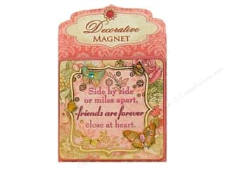 Clearance Punch Studio Decorative Magnet: Punch Studio Decorative Magnet Friends Forever