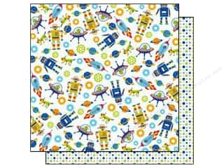 Best Creation Paper 12x12 Robot Rockets &amp; Robots (25 sheets)