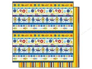 2013 Crafties - Best Adhesive: Best Creation 12 x 12 in. Paper Robot Space Stripes (25 sheets)