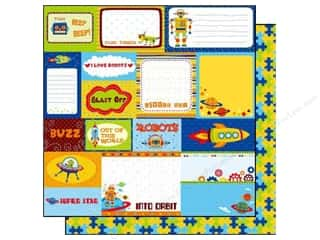Brothers Best Creation 12 x 12 in. Paper: Best Creation 12 x 12 in. Paper Robot Collection Tags (25 sheets)