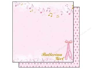 Best Creation Paper 12x12 Ballet P On Your Toes (25 sheets)