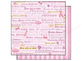 Best Creation Paper 12x12 Ballet P Dancing Queen (25 sheets)