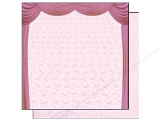 Best Creation Printed Cardstock: Best Creation 12 x 12 in. Paper Ballet Princess Collection Pink Stage (25 sheets)