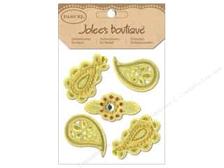 EK Success Dimensional Stickers: Jolee's Boutique Stickers Parcel Paisley Appliques