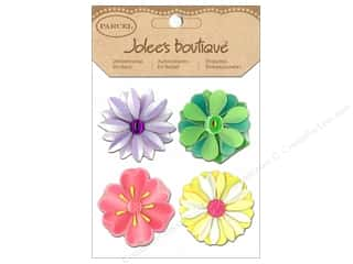 Spring Stickers: Jolee's Boutique Stickers Parcel Spring Mod Flowers