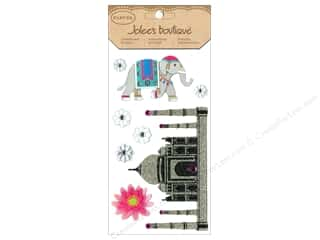 EK Success Vacations: Jolee's Boutique Stickers Large Parcel Glitter India