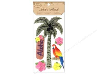 stickers  glitter: Jolee's Boutique Stickers Glitter Palm Tree