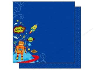 Clearance Best Creations Paper 12x12: Best Creation 12 x 12 in. Paper Robot Blast Off (25 sheets)