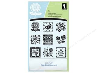 bird stamp: Inkadinkado Clear Stamp Inchies Folk Patterns