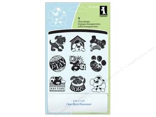 Inkadinkado Clear Stamp Inchies Dogs