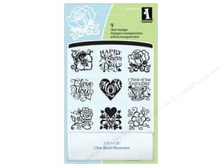 Inkadinkado Clear Stamp Inchies Mother's Day