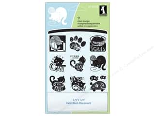 Inkadinkado Clear Stamp Inchies Cats