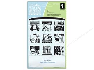 Inkadinkado Clear Stamp Inchies Paris