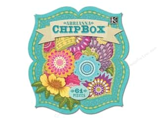 Chipboard Shapes  Flowers: K&Co Chipbox Abrianna Icon